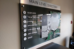 Offering: Indoor directory signs