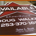 Offering: Real estate yard signs