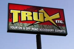 Offering: Custom signs fabricated for poles