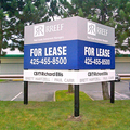 Offering: Three Post Real Estate Signs with Installation