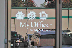 Offering: Professionally Installed Window Graphics
