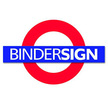 Binder sign logo